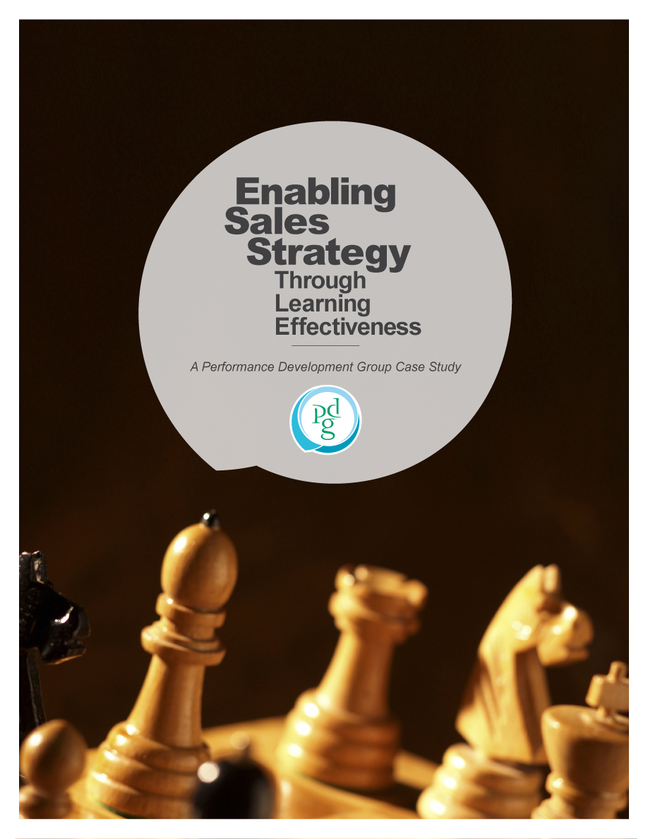 Enabling Sales Strategy Through Learning Effectiveness