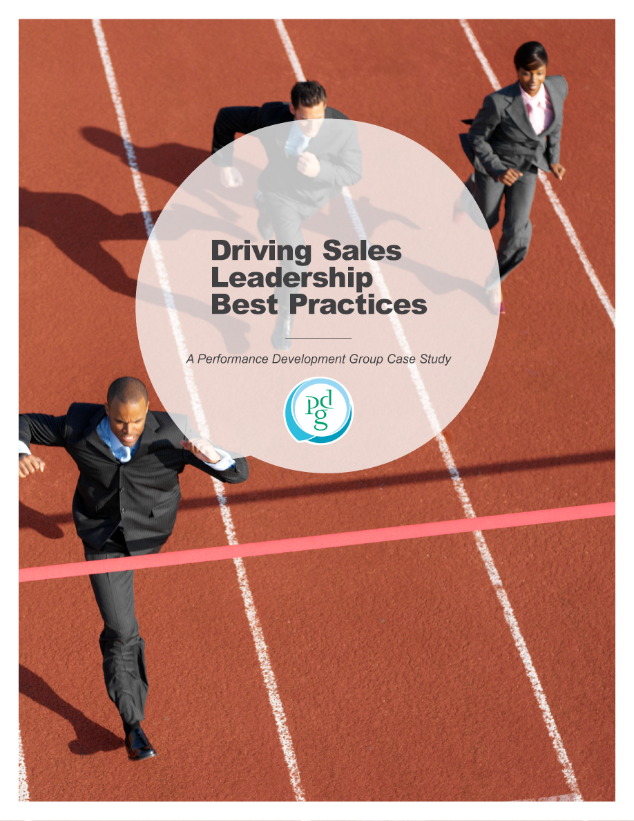 Driving Sales Leadership Best Practices