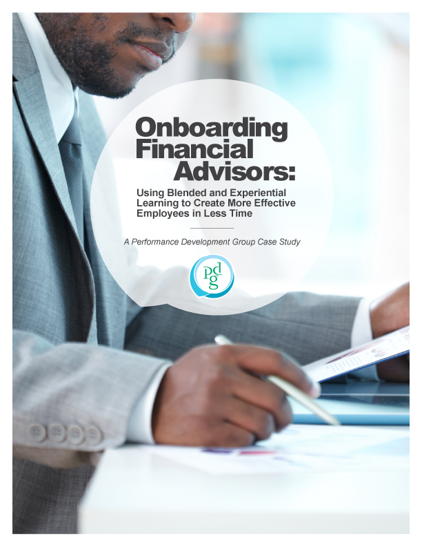 Onboarding Financial Advisors