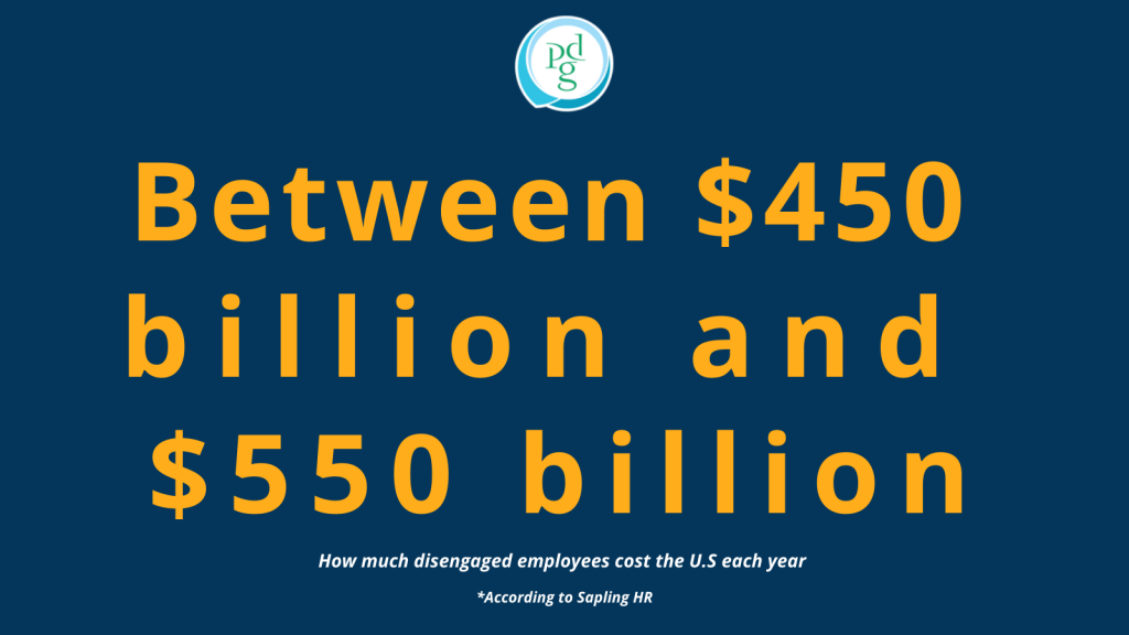 How much disengaged employees cost